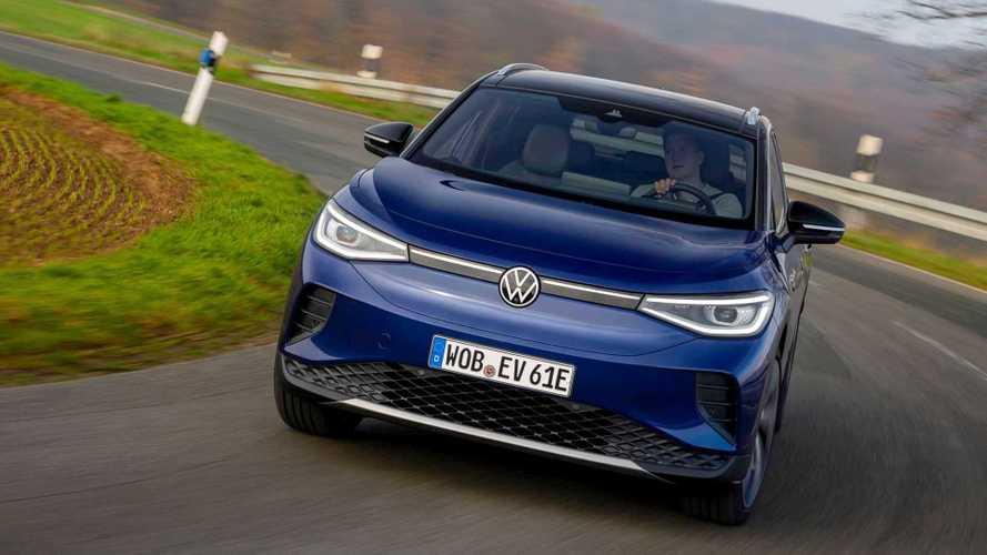 Volkswagen mais que dobra vendas de carros elétricos em 2021