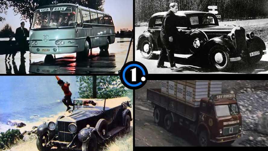 От прототипов до трофейного «Хорьха»: автомобили советского кино