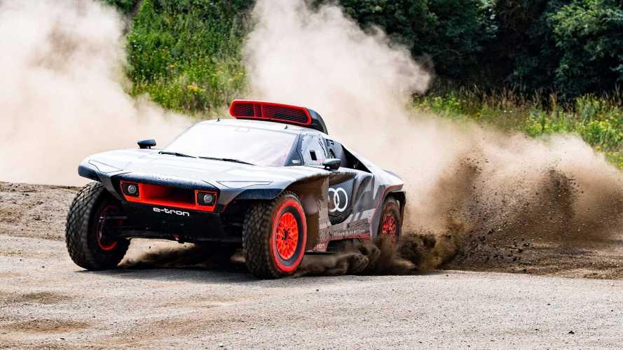 Audi RS Q e-tron für die Rallye Dakar 2022 enthüllt