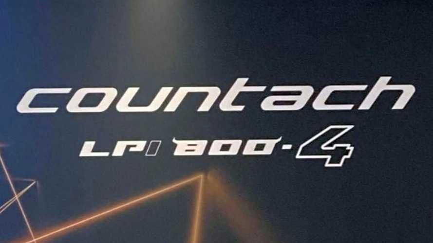 Lamborghini возродит имя Countach для гибридного суперкара