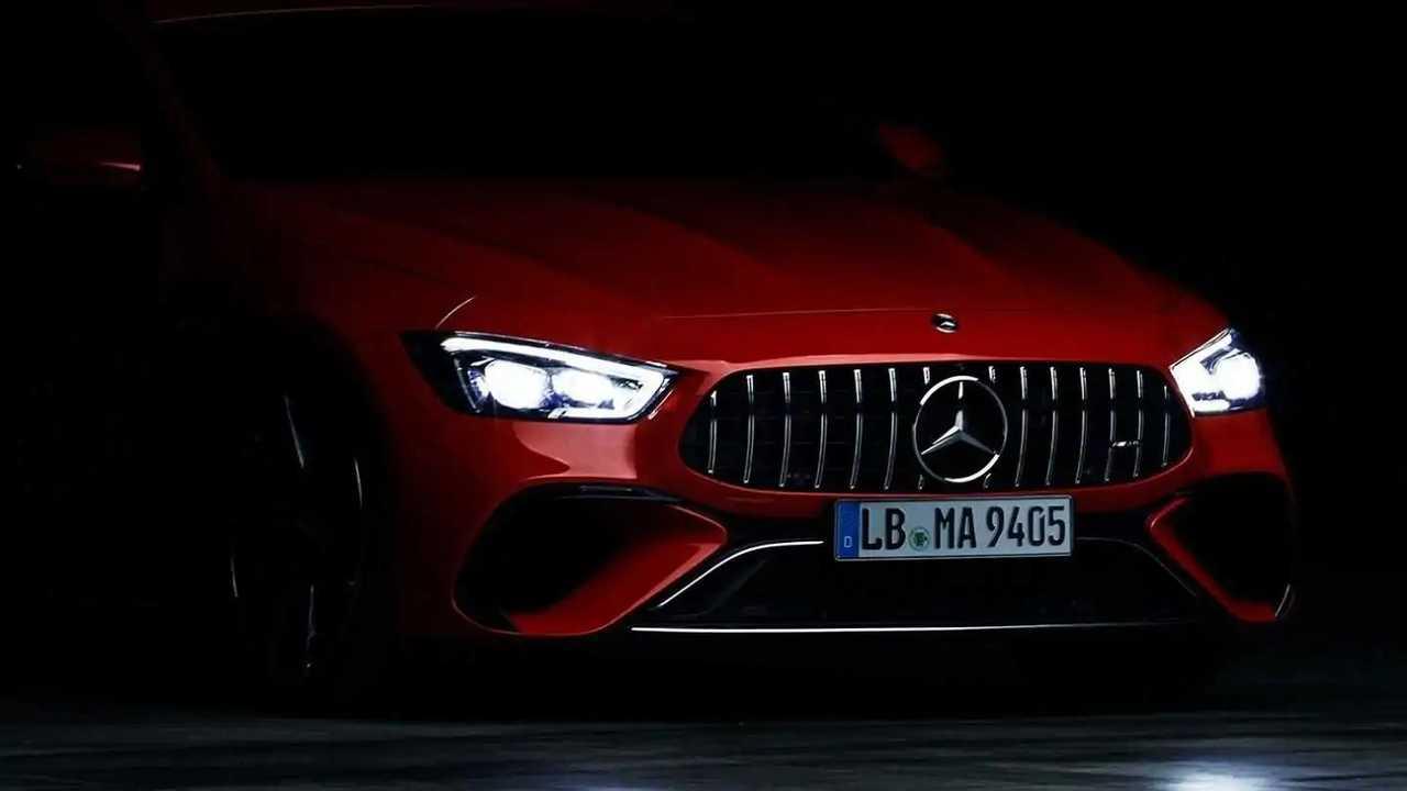 Mercedes-AMG GT hybride rechargeable Teaser