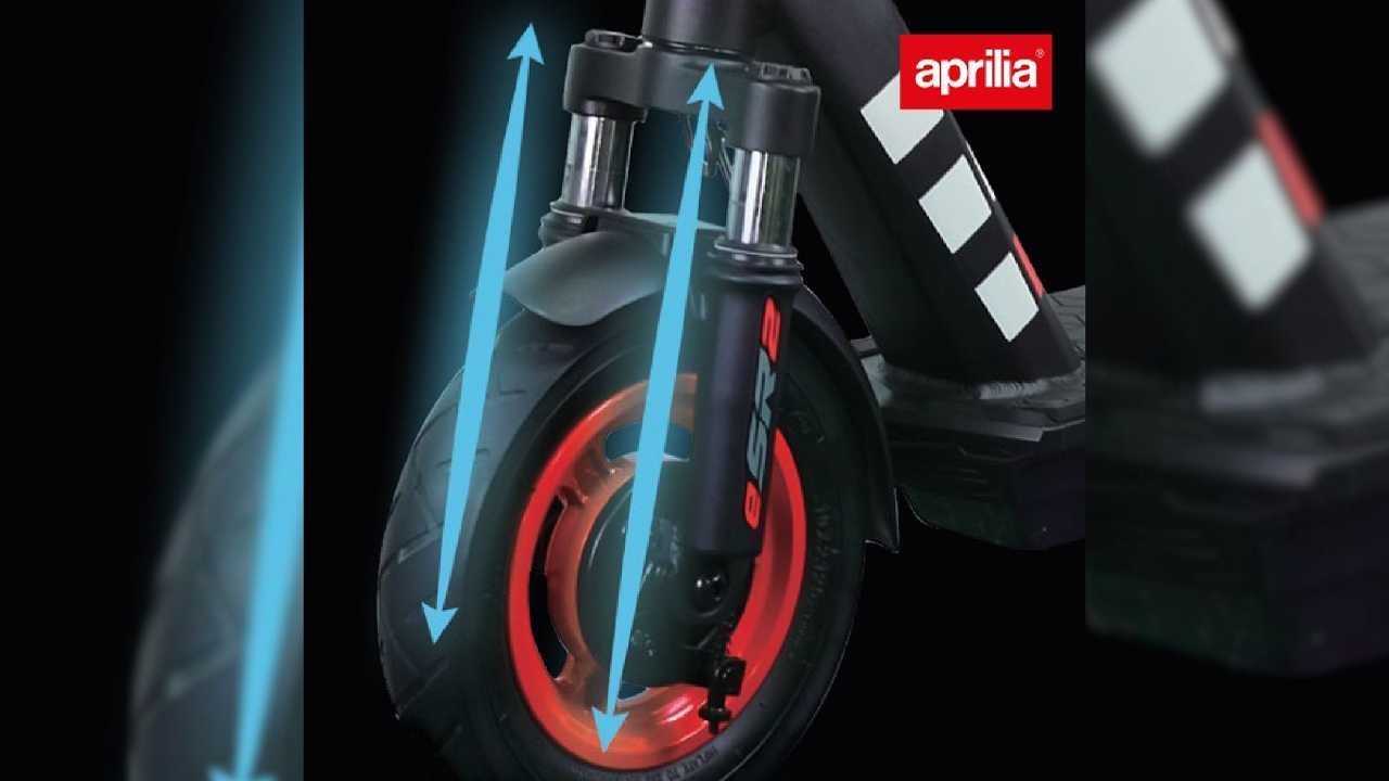Take A Look At Aprilia's New eSR2 Electric Scooter