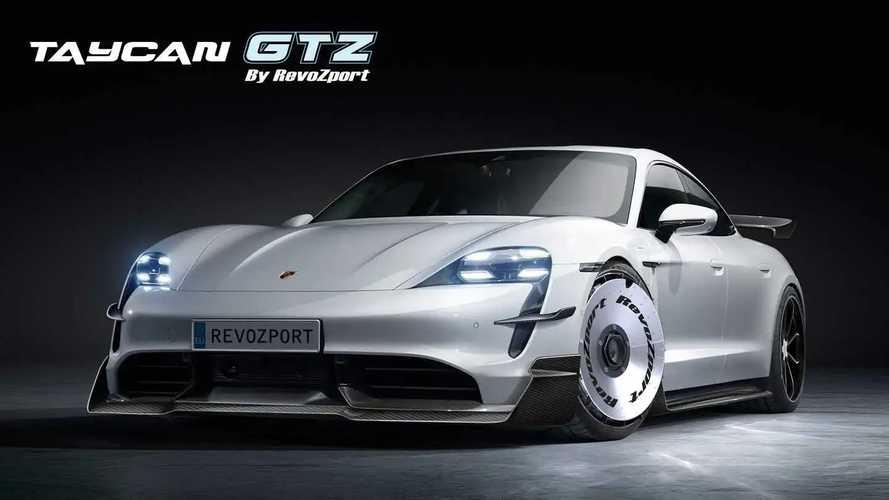 La Porsche Taycan diventa una GT3 elettrica con RevoZport