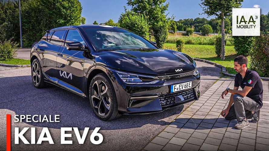 Come va la Kia EV6, crossover elettrica in anteprima al Salone di Monaco
