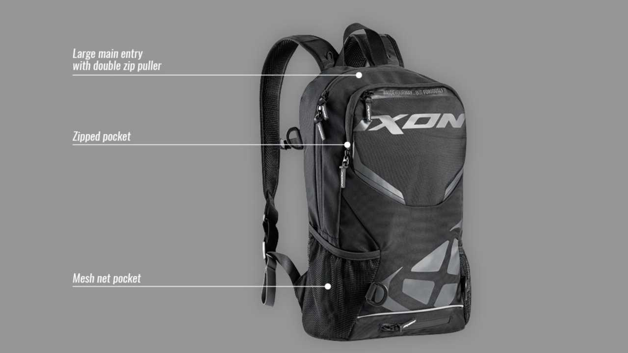 Check Out Ixon's Sporty And Affordable R-Tension 23 Backpack