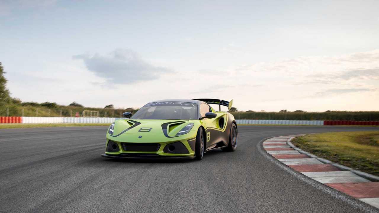 Lotus Emira GT4 2022
