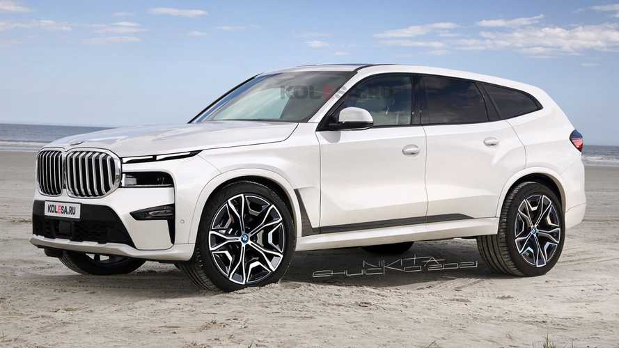 Der BMW X8 (2023) sieht als Rendering geradezu seltsam aus