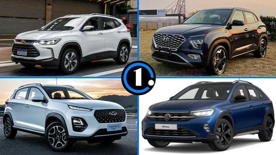 Qual o consumo dos SUVs compactos 1.0 turbo?