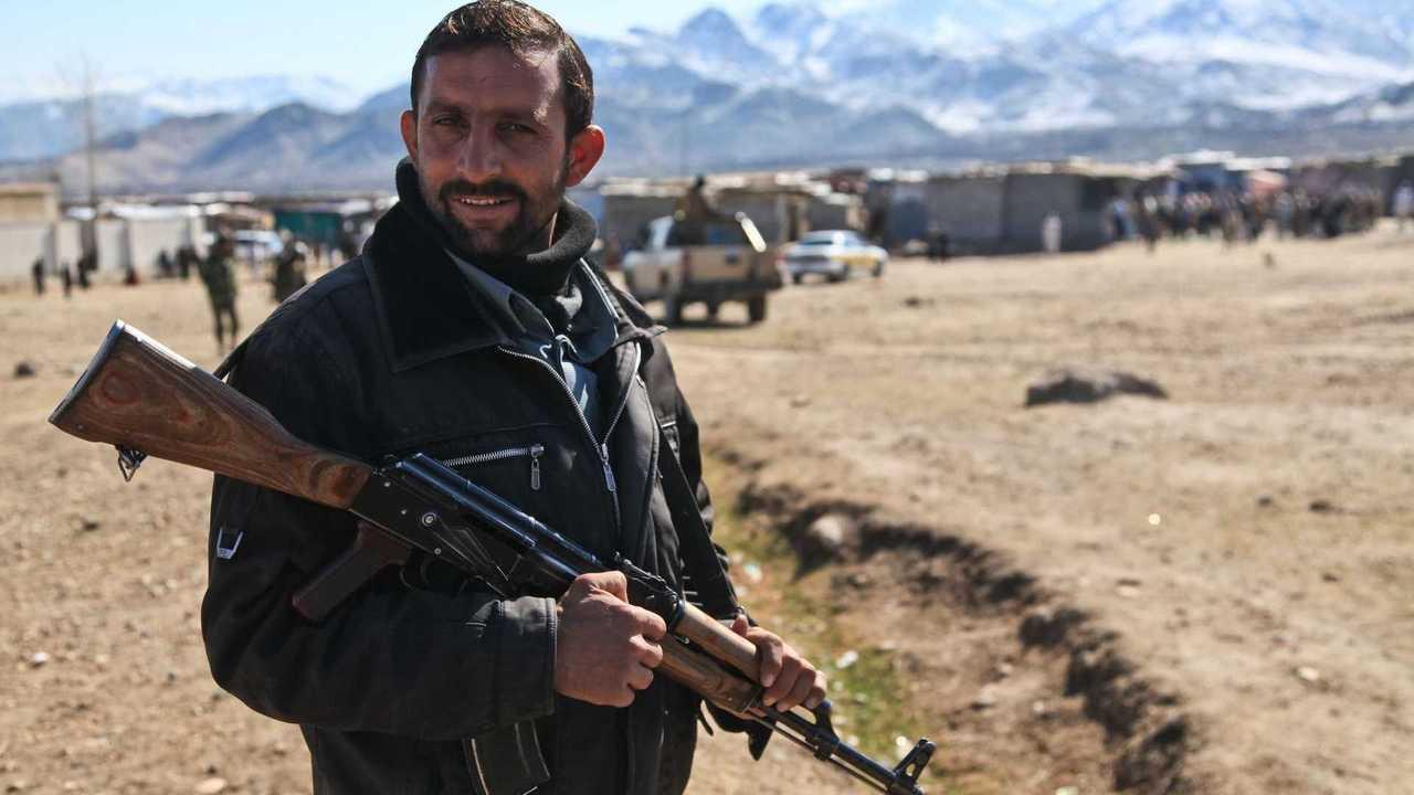 Un soldato in Afghanistan