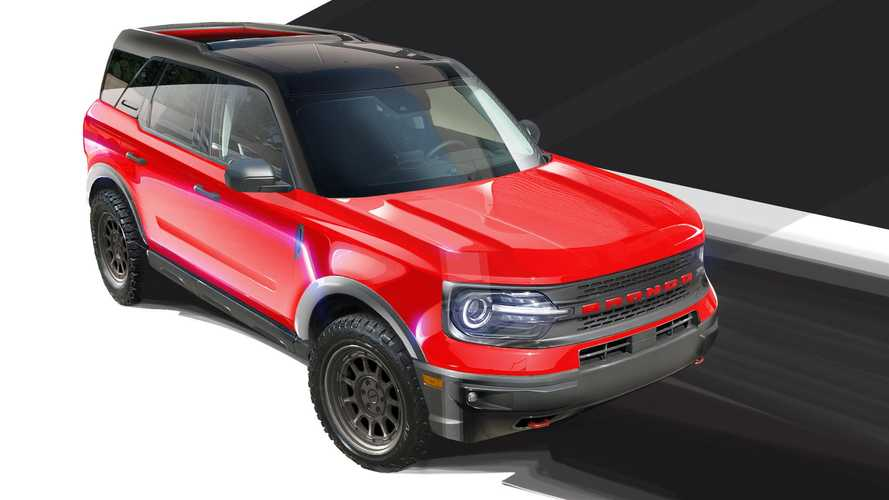 Ford Bronco And Bronco Sport At SEMA 2021