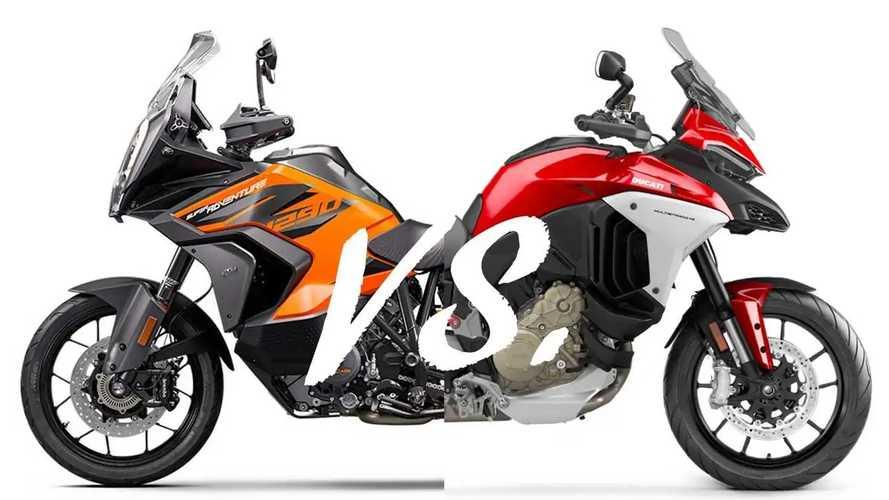 Spec Showdown: KTM 1290 Super Adventure Vs. Ducati Multistrada V4