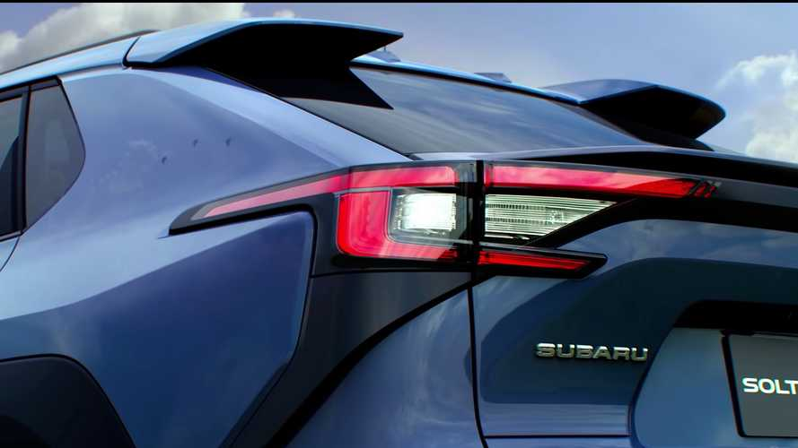 Subaru Solterra Teaser Video Reveals More Of The Upcoming EV's  Body