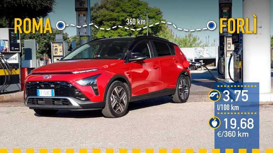 Hyundai Bayon 2021: prueba de consumo real