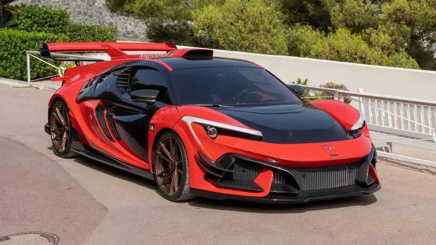 FV Frangivento Sorpasso GT3, desvelado en la Riviera Francesa