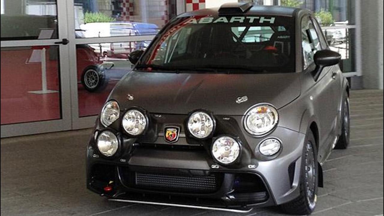 [Copertina] - Abarth 695 Biposto R, ha fame di WRC
