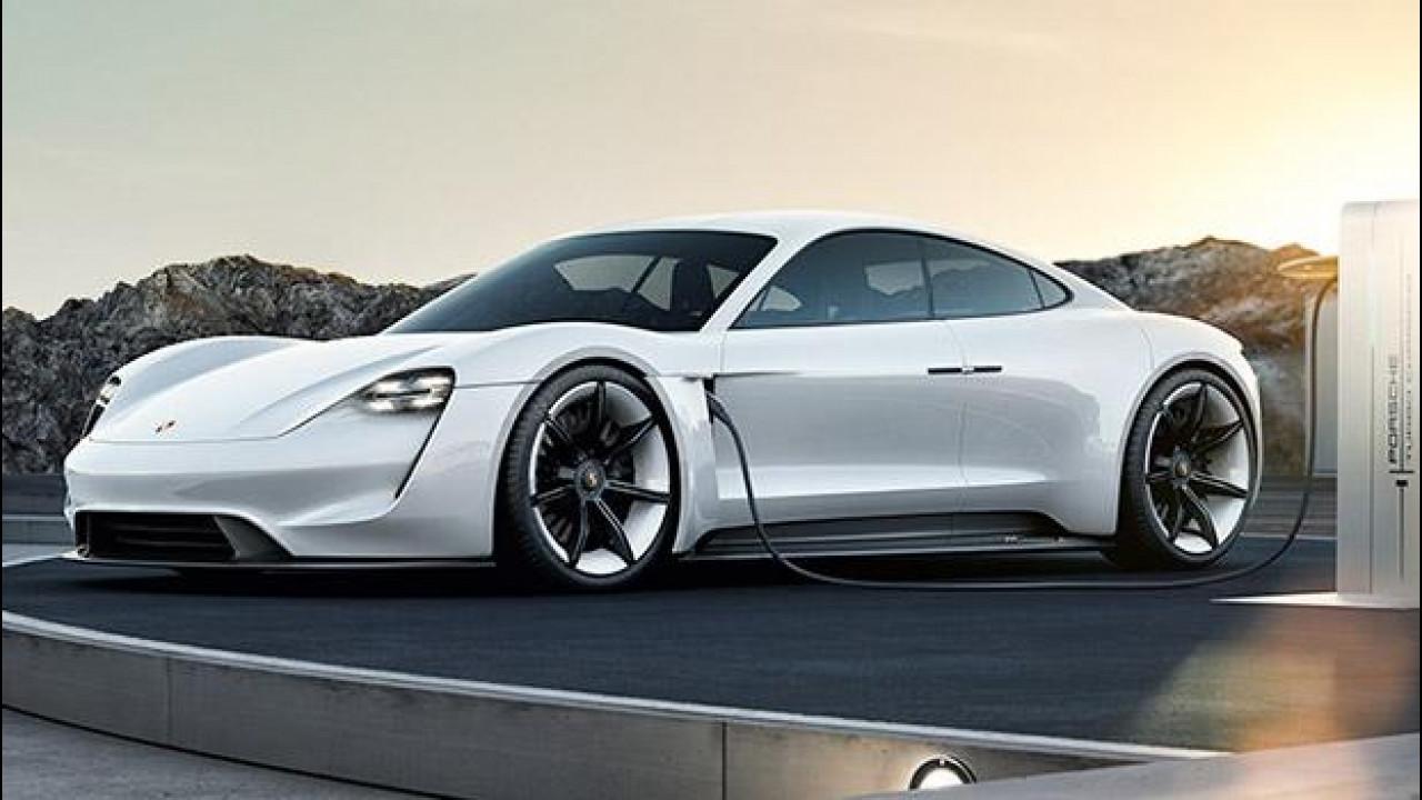 [Copertina] - Porsche Mission E, l'elettrica si farà