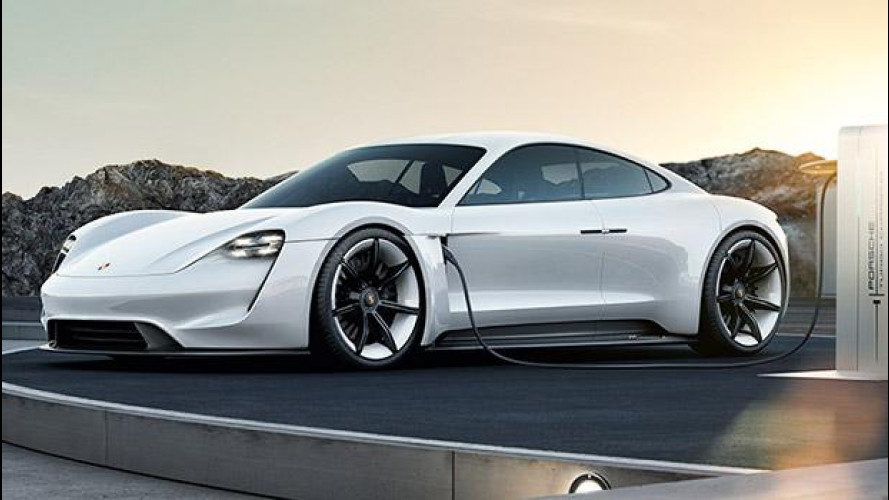 Porsche Mission E, l'elettrica si farà