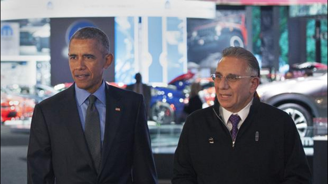 [Copertina] - Obama al Salone di Detroit elogia l'auto americana