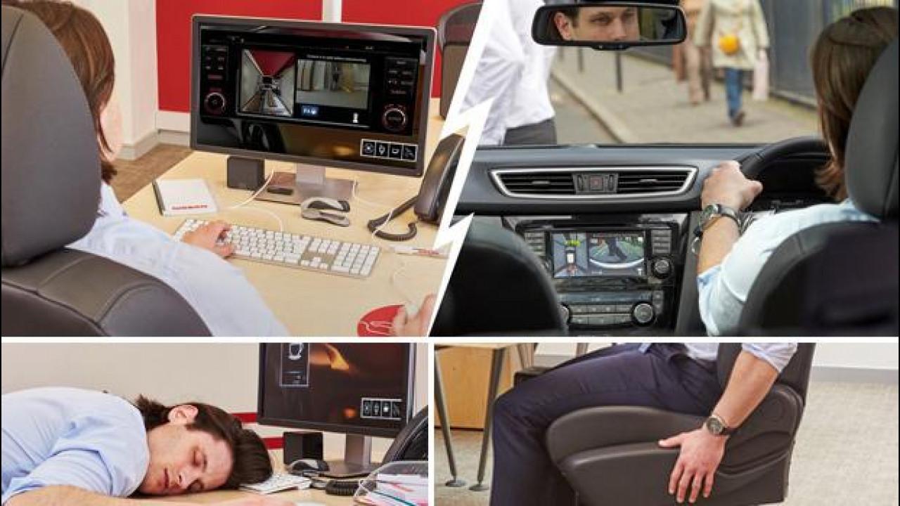 [Copertina] - Nissan porta negli uffici la tecnologia del Qashqai