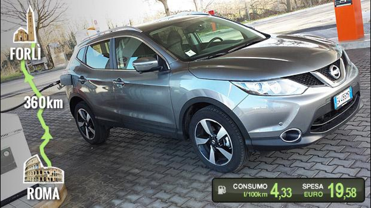 [Copertina] - Nissan Qashqai dCi 130 4WD, la prova dei consumi reali