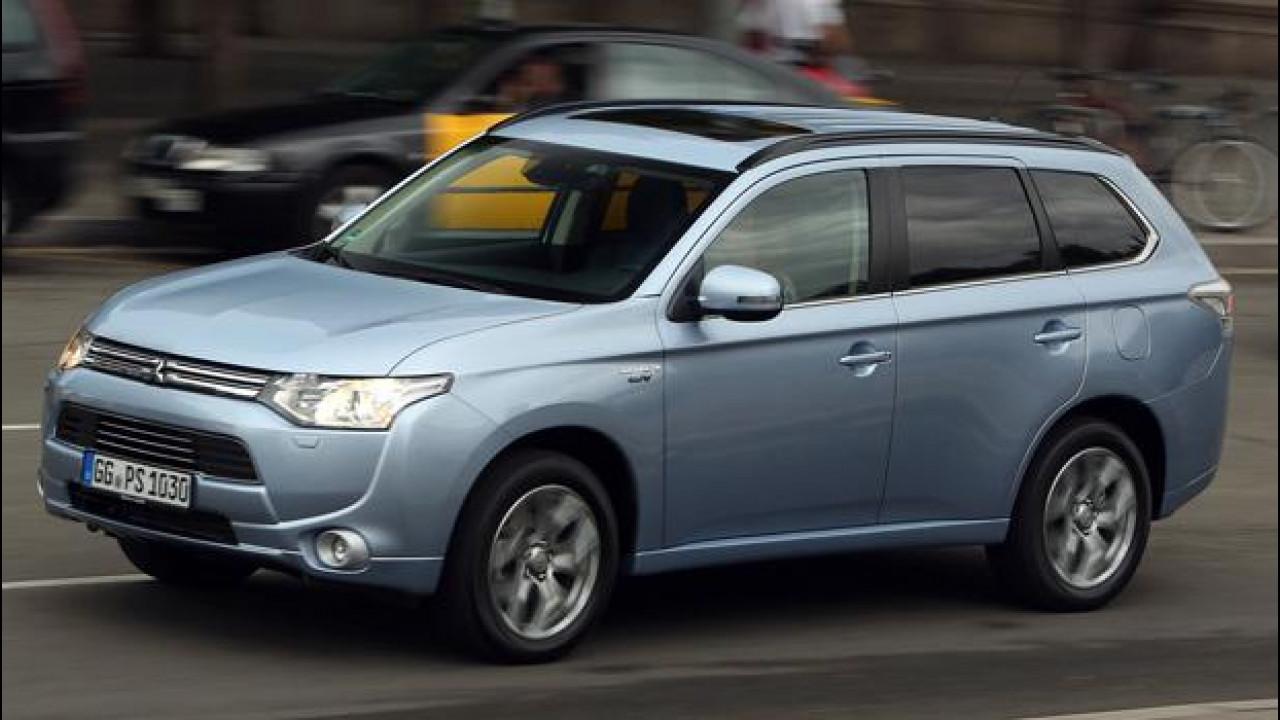 [Copertina] - Mitsubishi Outlander PHEV, l'ibrido più elettrico che c'è