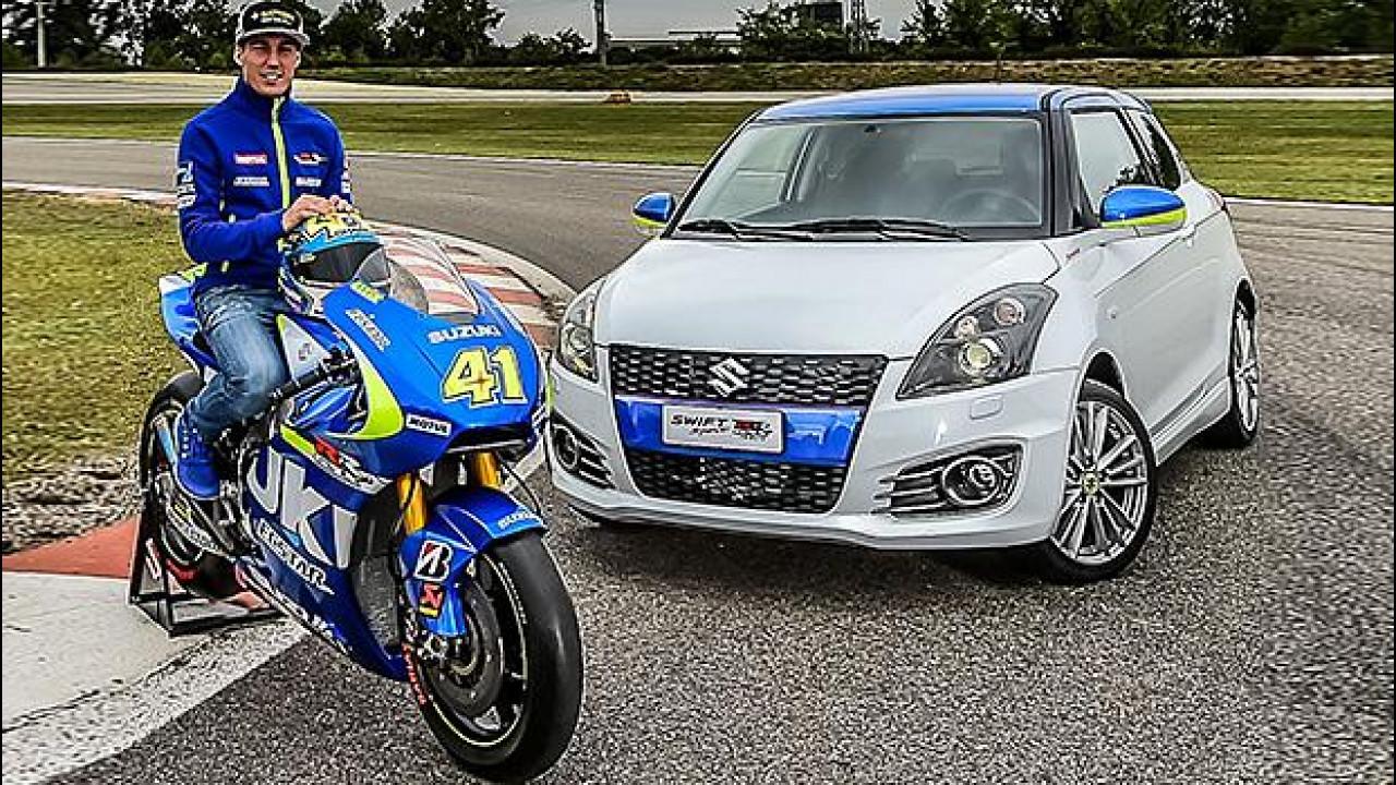 [Copertina] - Suzuki Swift Sport GSX-RR Tribute, anima da MotoGP [VIDEO]