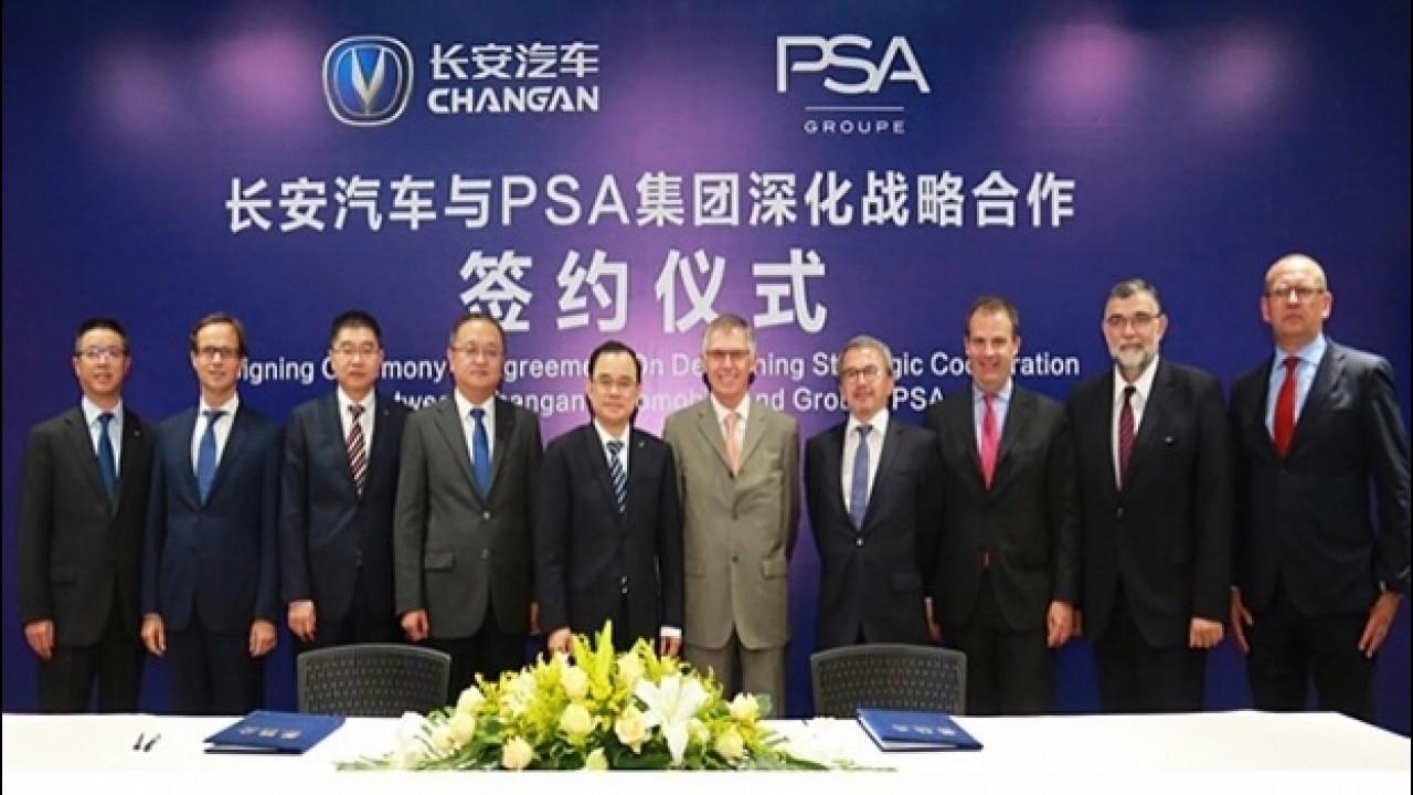[Copertina] - Groupe PSA e ChangAn Automobile, si rafforza l'accordo