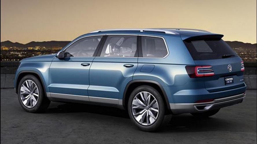 Volkswagen in USA, il rilancio parte dal nuovo SUV