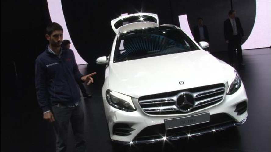 Salone di Francoforte: Mercedes GLC, la SUV a tutto tondo [VIDEO]