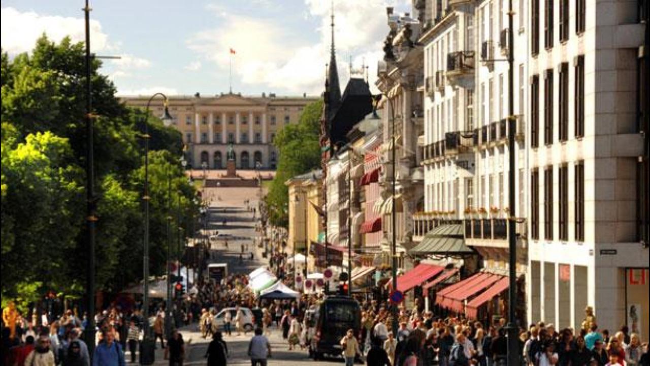 [Copertina] - Inquinamento, Oslo senza auto dal 2019