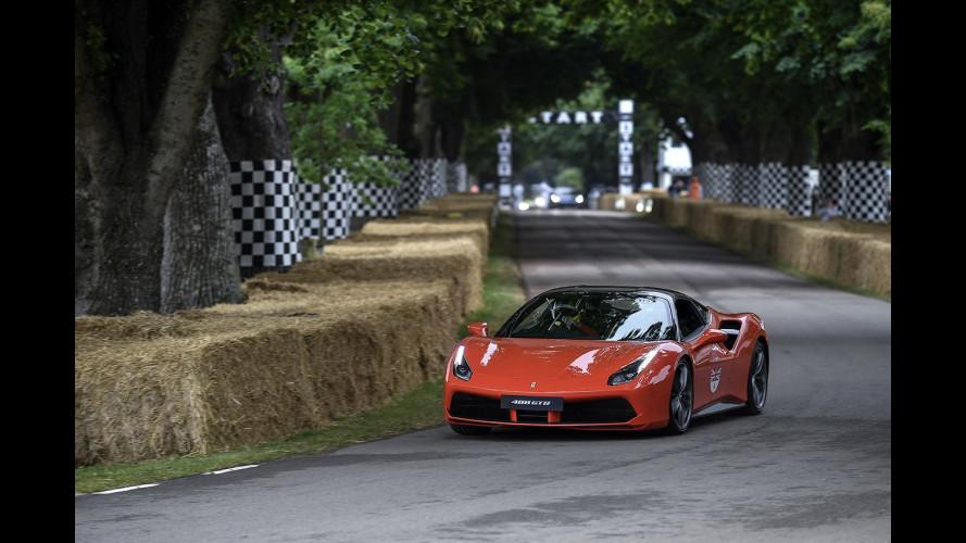 Ferrari, festa grande a Goodwood per il 70° Anniversario