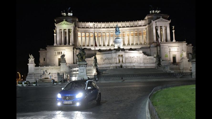 smart elettrica, quanto costa mantenerla a Roma e Milano