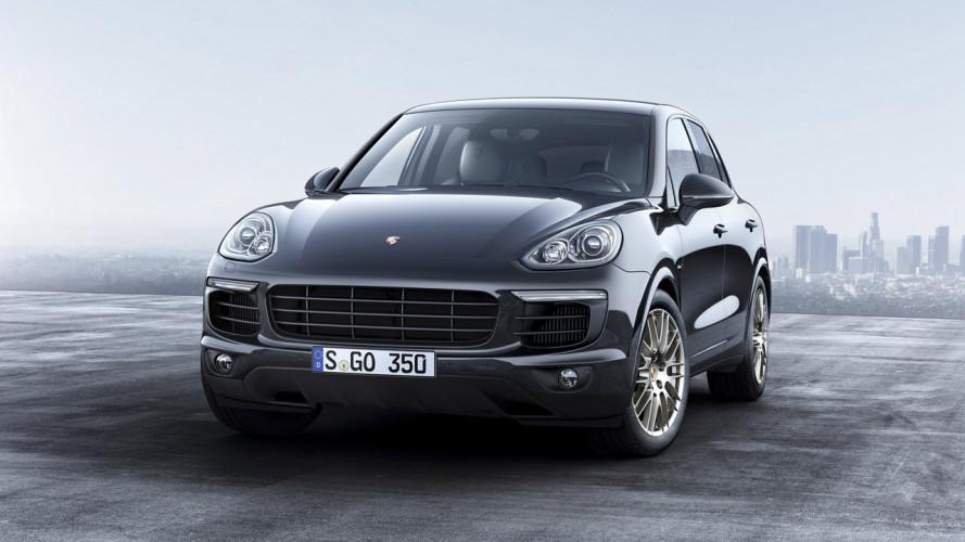 Porsche Cayenne Platinum Edition, ancora più ricca