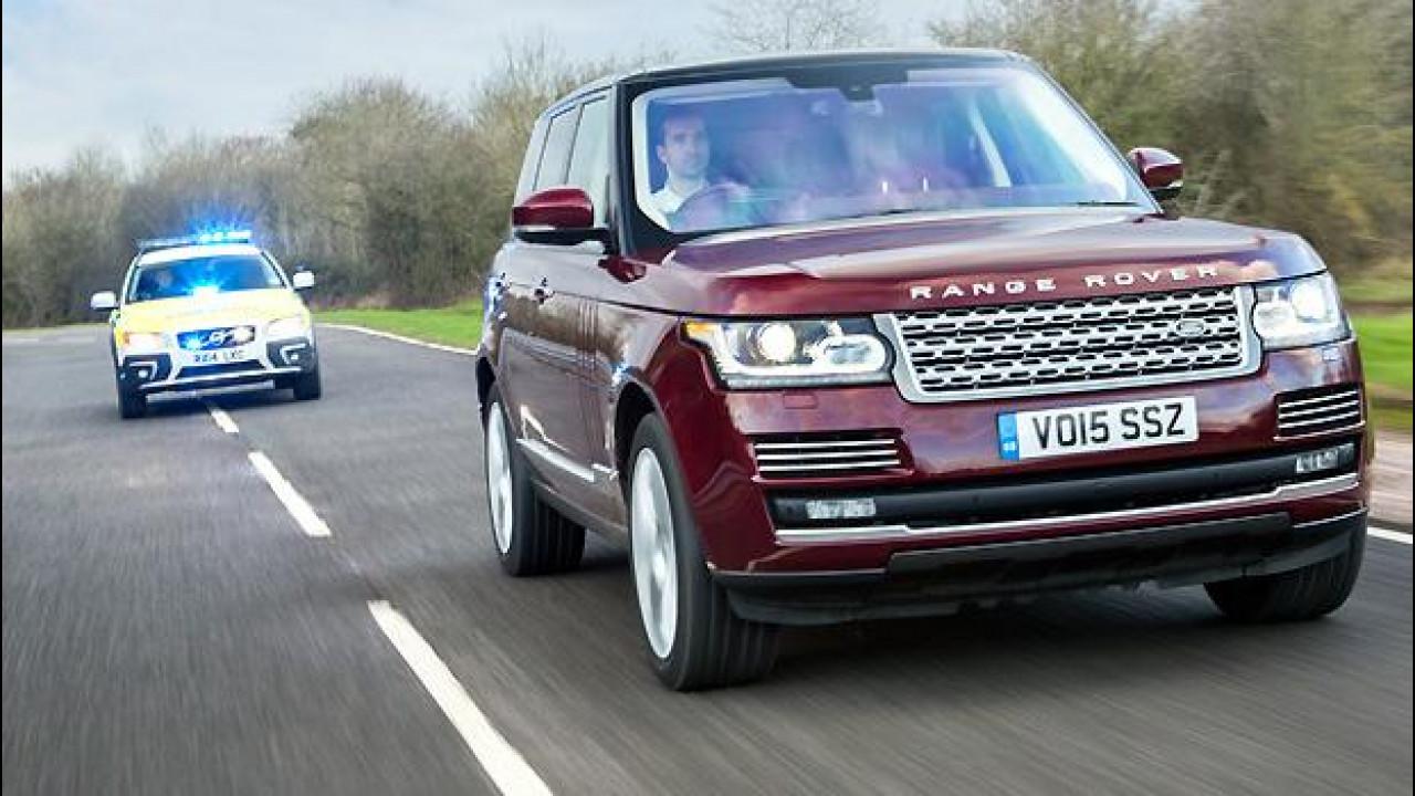 [Copertina] - Guida autonoma, un tocco umano da Jaguar Land Rover
