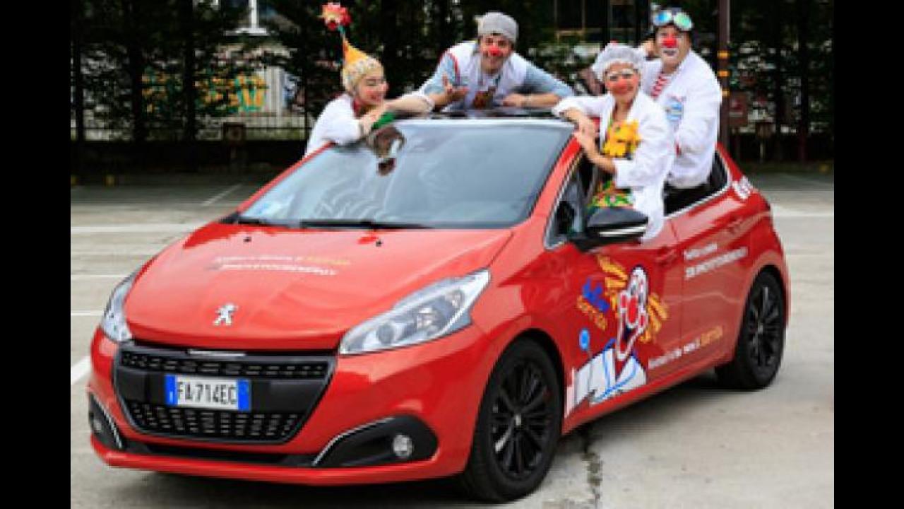 [Copertina] - Peugeot 208, parte il social tour per Dottor Sorriso