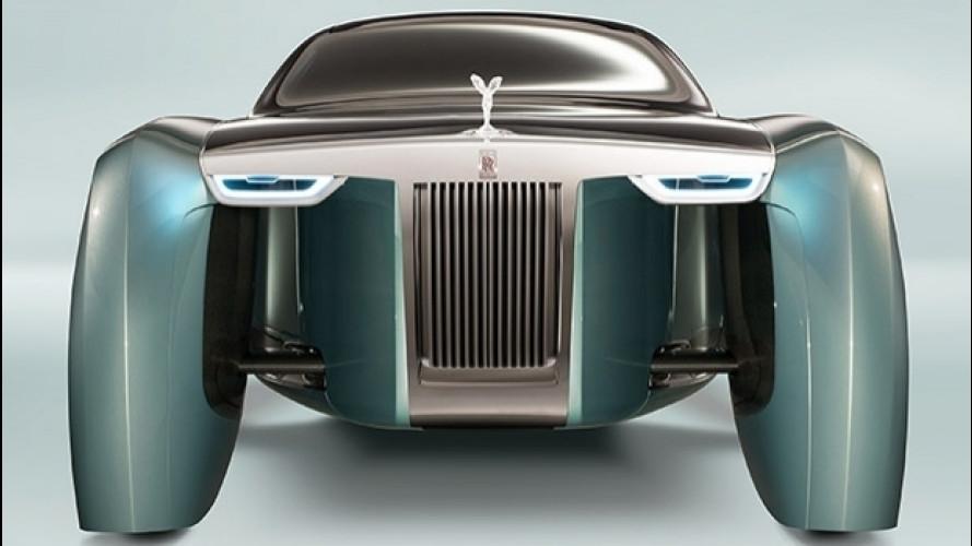 Rolls-Royce Phantom, il 27 luglio la nuova generazione
