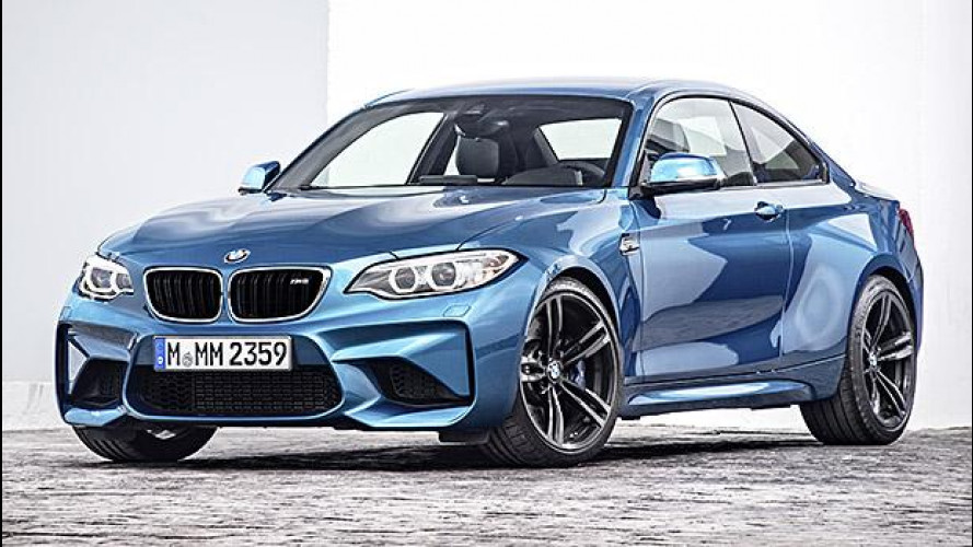 BMW M2 Coupé, piccola bomba da 370 CV