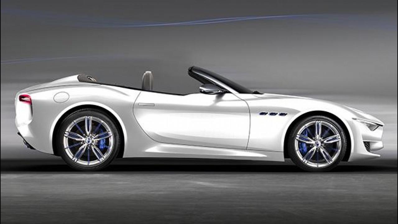 [Copertina] - Maserati Alfieri Cabrio, ecco come sarà (secondo noi)