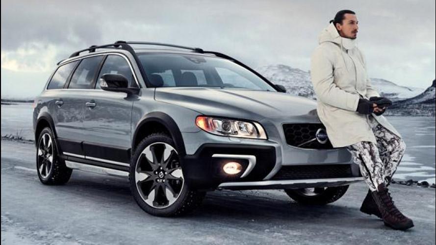 Ibrahimovic cacciatore e testimonial Volvo [VIDEO]