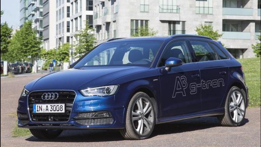 """Audi A3 Sportback g-tron: il """"lusso"""" del metano, da 25.650 euro"""