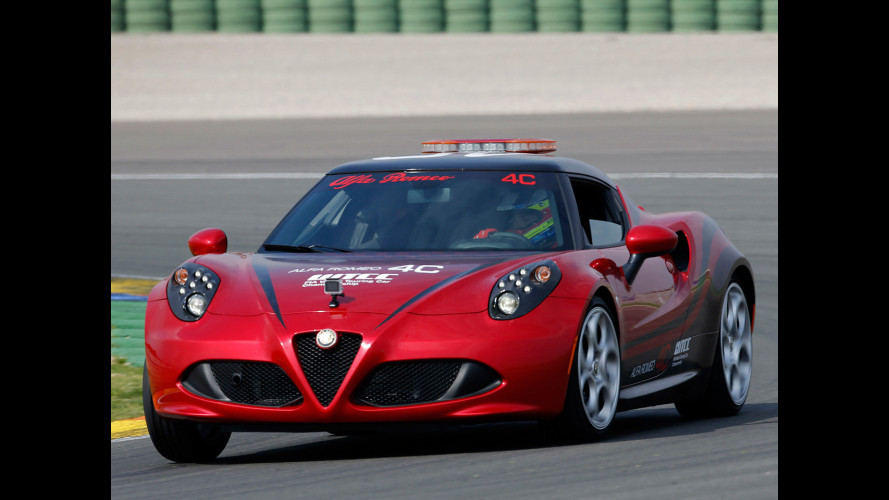 Alfa Romeo 4C, la nuova safety car del WTCC
