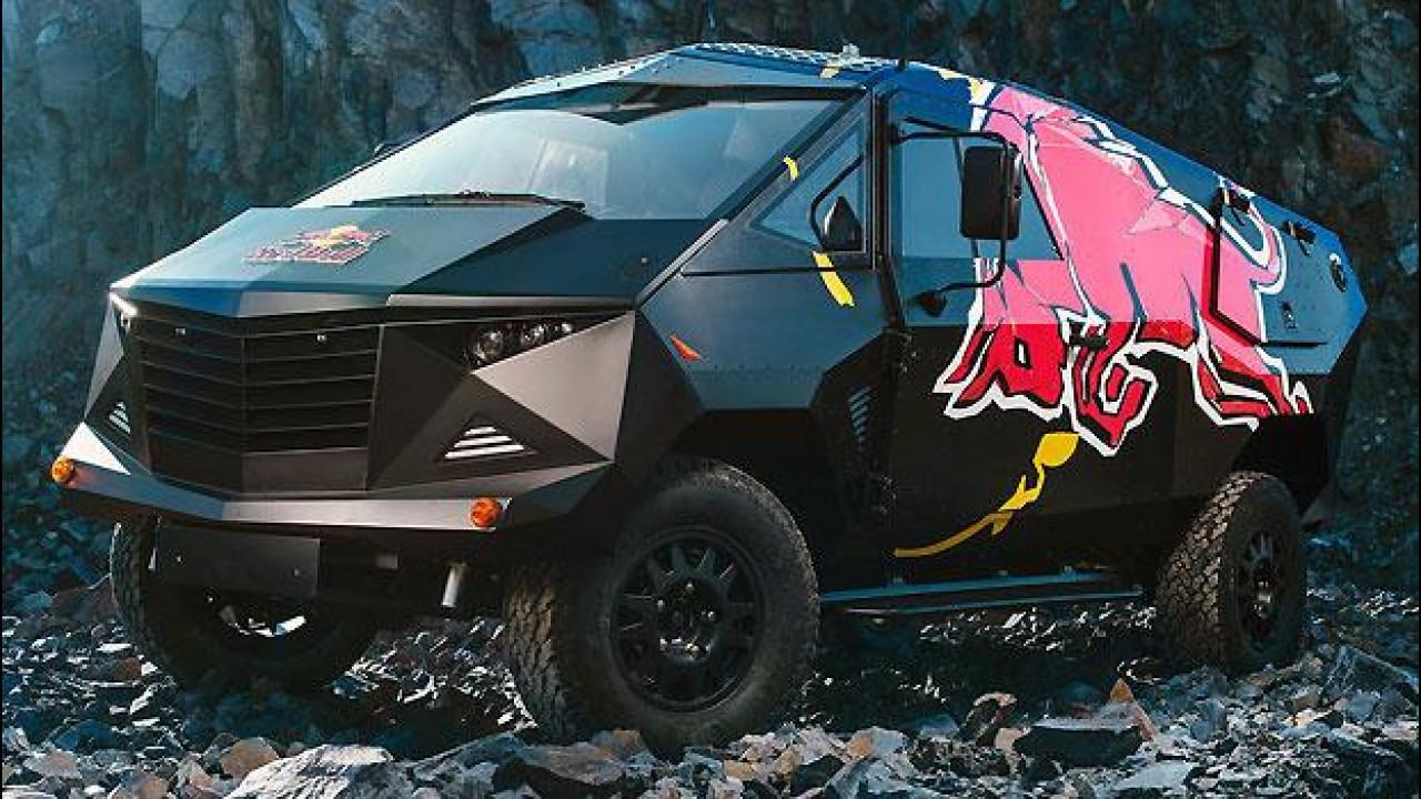 [Copertina] - Red Bull, ecco il DJ truck su base Defender