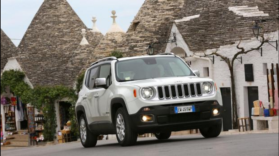 Jeep Renegade, entry level da 20.800 euro e nuovi cambi
