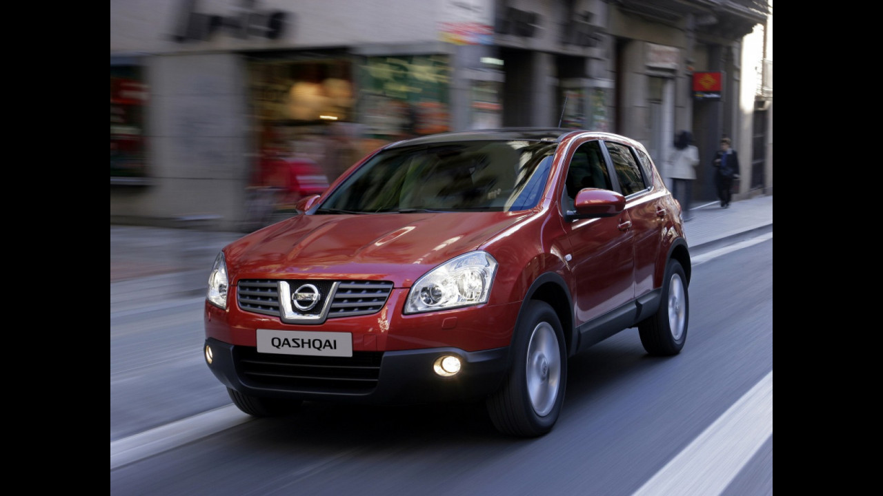 Nissan Qashqai, 10 anni di storia