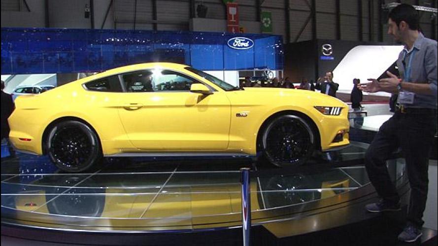 Nuova Ford Mustang, il sogno americano arriva in Europa