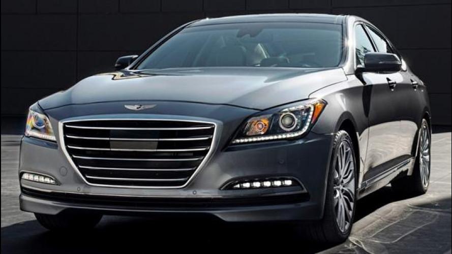 Nuova Hyundai Genesis, da noi sarà auto blu