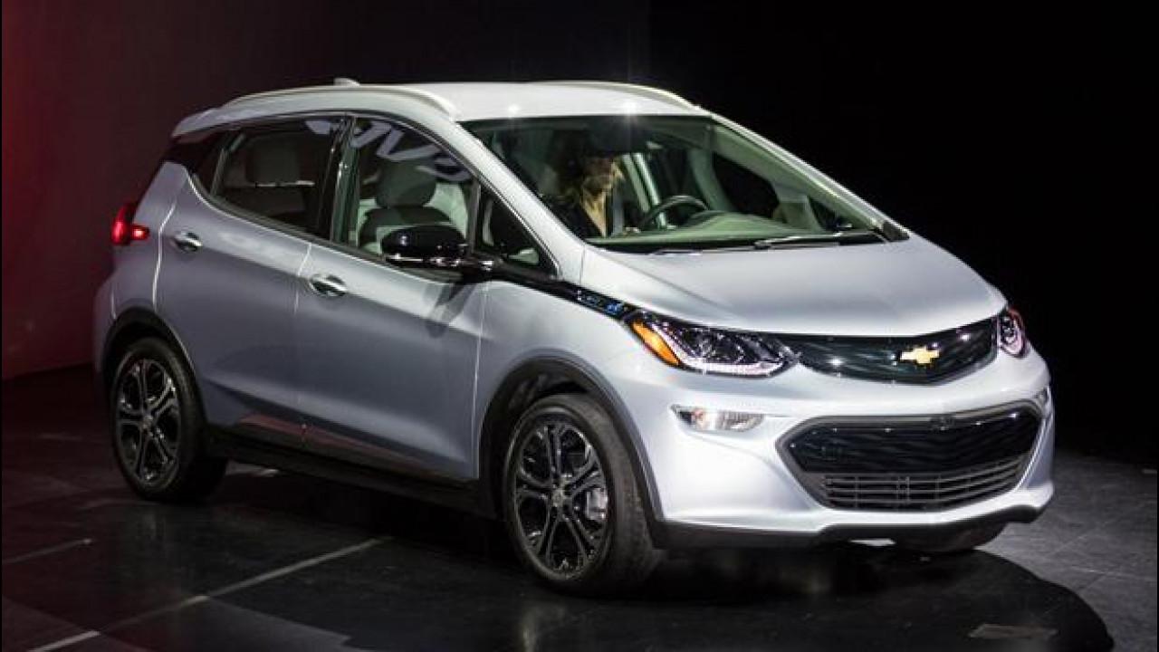 [Copertina] - Chevrolet Bolt, al CES debutta l'elettrica per tutti