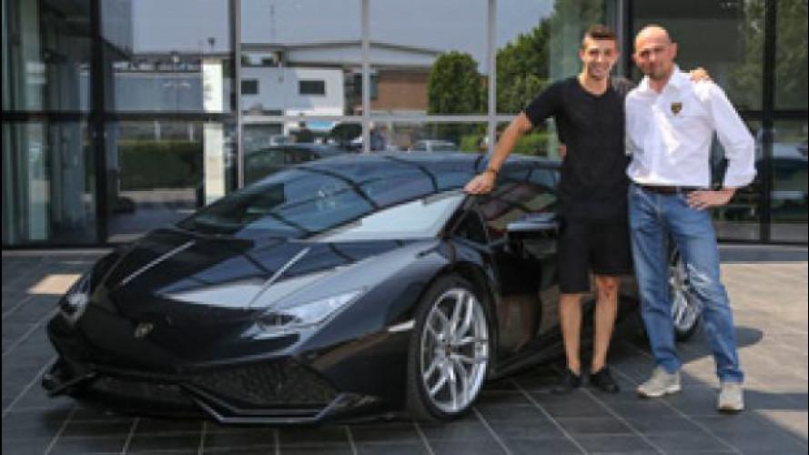 Lamborghini Huracan conquista i campioni di MotoGP