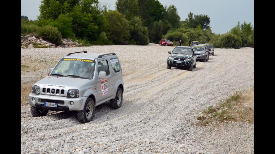 """Con le Suzuki 4x4 """"a caccia"""" di Rallysti"""