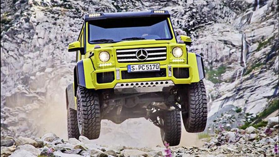 Mercedes G 500 4x4², la prova estrema